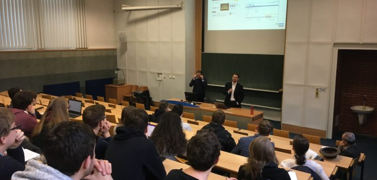 We lecture at the University of Economics in Prague (VŠE)