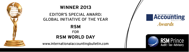 International Accounting Bulletin - RSM World Day Award
